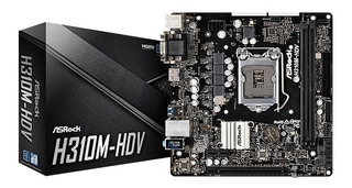 Mother H310m-hdv Marca Asrock