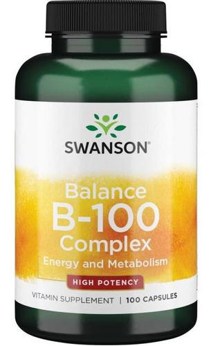 Vitamina B100 B-100 Complex Energia Y Cerebro + Envio Grati