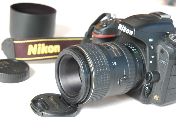 Lente Nikon Macro 100mm 2.8 Atx Tokina Melhorq 105mm Vr Af-s