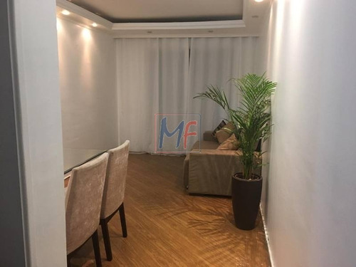 Imagem 1 de 10 de Ref: 1370 - Excelente Apartamento No Bairro Vila Constança, Com Ótimo Acesso Ao Shopping Interlagos,  2 Dorms, Sala Ampla E  1 Vaga. - 1370