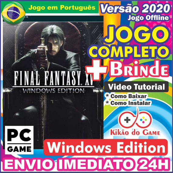 Final Fantasy Xv Windows Edition Pc Digital Br+dlc + Brinde