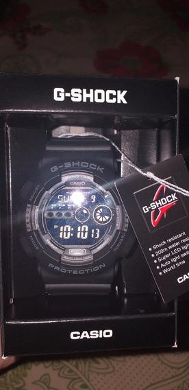 Relogio G-shock Gd-100-1bdr
