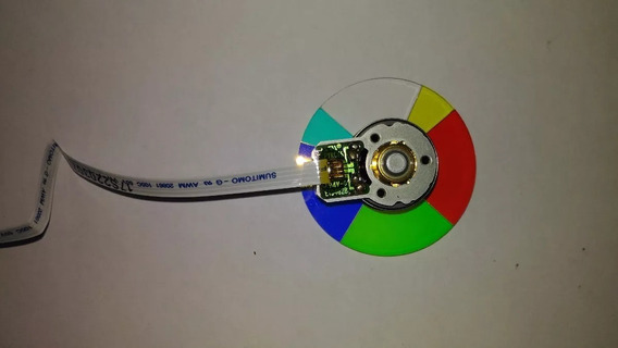 Color Wheel Roda Disco De Cores Projetor Nec