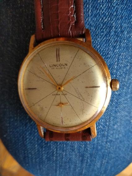 Relógio Masculino Lincoln Antigo