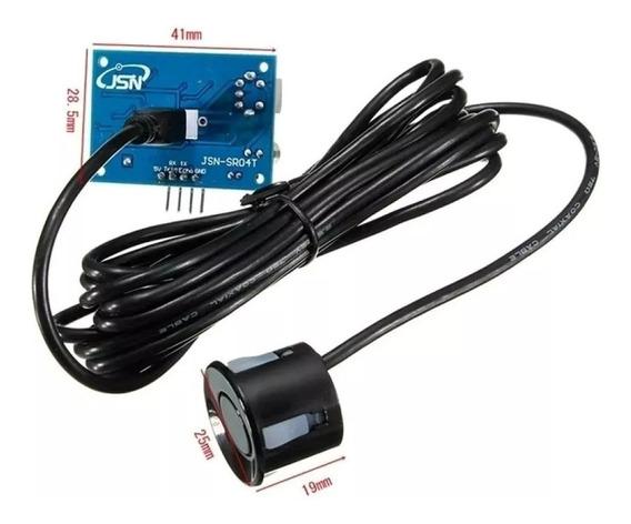 5x Sensores Ultrassônico Prova Água Jsn-sr04t-2.0 Arduino 5v