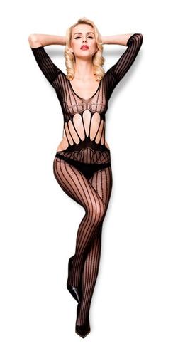 Baby Doll Malla Sexy Erótica Lencería Sensual Cuerpo Complet