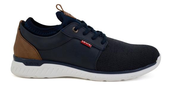 Zapato Casual Levis Para Hombre L219092 Azul Marino [lev99]