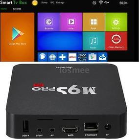 M9s-pro 4k 8g Wifi S905x Quad Core 6.0 Android Smart Tv...