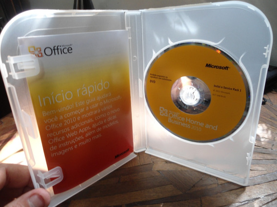 Software Office Home And Business 2010 Original - Sem Chave