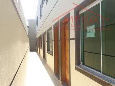 Casa Em Condomínio Fechado Com 2 Dorms. - Ca0036