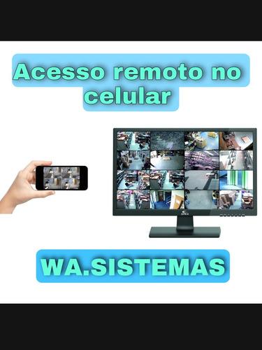 Acesso Remoto No Celular ; Câmeras Ip / Dvr Diversos.