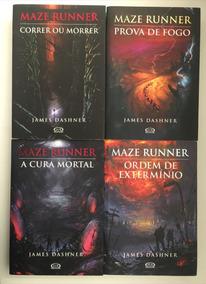 Coleção Maze Runner - 4 Livros