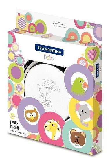 Prato P/ Crianças Tramontina Baby Inox - 23cm