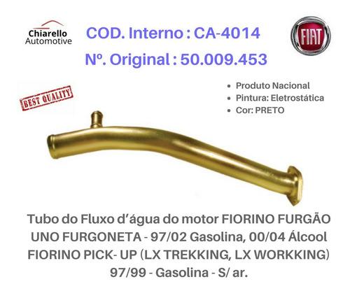 Tubo Dágua Fiorino Furgão Pickup Trekking Workking S/ar
