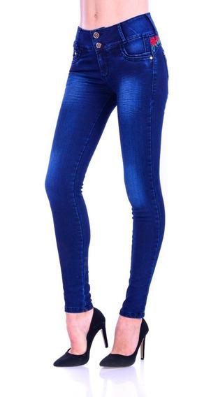 Pantalón De Mezclilla Jeans Gal-901