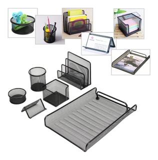 Kit De Escritorio - Set Oficina Metálico - Organizador