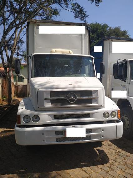 Mercedes Benz Mb 1620 6x2 Truck 2005 Com Baú Sider