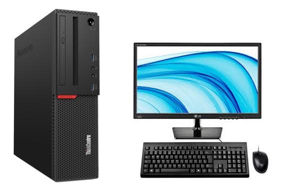 Cpu + Monitor Lenovo M700 I5 6ger 8gb 500gb - Promoção