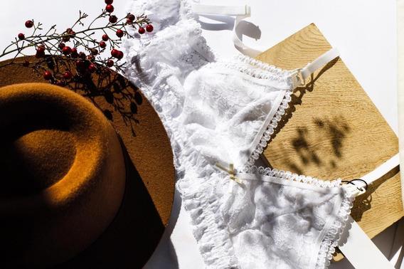 Corpiño Maternal Lactancia Taza Desmontable Encaje Sexy