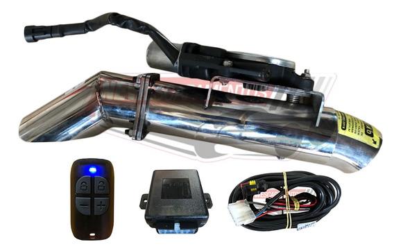 Difusor Inox Controle Escapamento Esportivo 2,5 Polegadas