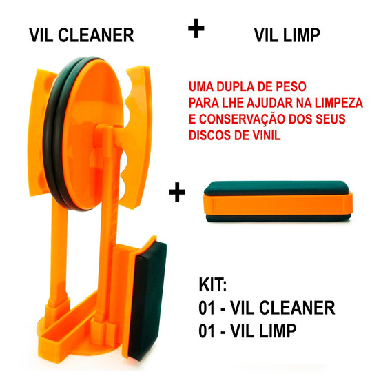 Kit Limpeza Completa - 01 Vil Cleaner + 01 Vil Limp