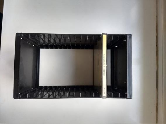 Organizador Porta Cds / Cd-rom Para 16 Unidades - Preto