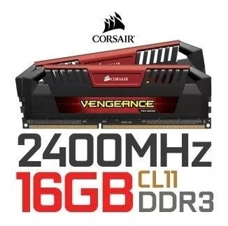 Memória Ddr3 2400 Mhz - 16gb Corsair Vengeance Pro