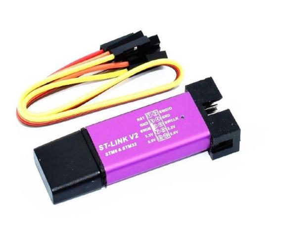 Gravador / Programador St-link V2 Stm8 Stm32 Mcu
