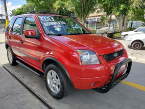 Ford Ecosport 2004 1.6 Xls 8v Revisada Bancos De Couro Rodas