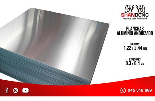 Planchas De Aluminio, Dorado Y Plateado, Y Servicio De Corte