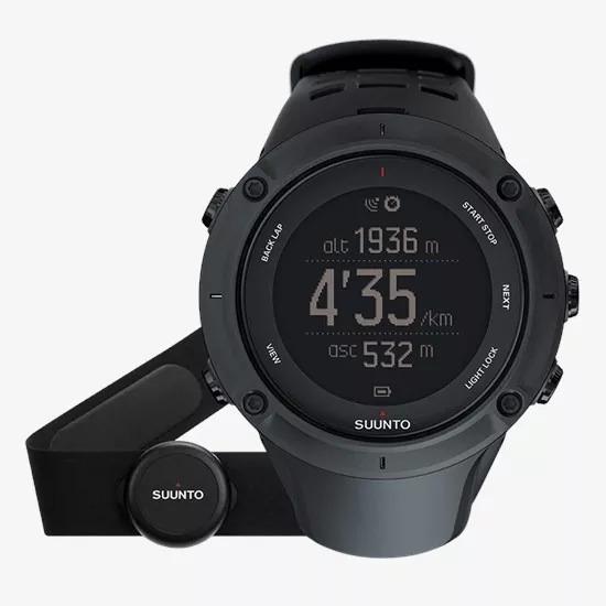 Relógio Esportivo Gps Suunto Ambit3 Peak Black Hr + Cinta Cardíaca + Usb. Novo! Envio Imediato!!