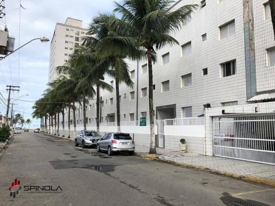 Kitnet Com 1 Dormitório À Venda, 38 M² Por R$ 110.000 - Vila Mirim - Praia Grande/sp - Kn0294