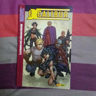 Tomo Excalibur Marvel Comics Fiebre De Sabado Noche