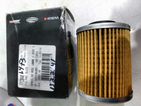 Filtro Oleo Can Nan, Aprilia Rsv Rst 1000 Bombardier