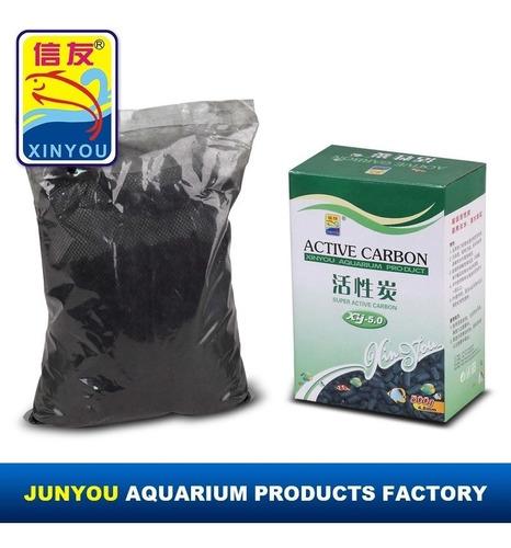 Carbon Activado Acuario Filtro Agua Canister Cascada 500 Gr