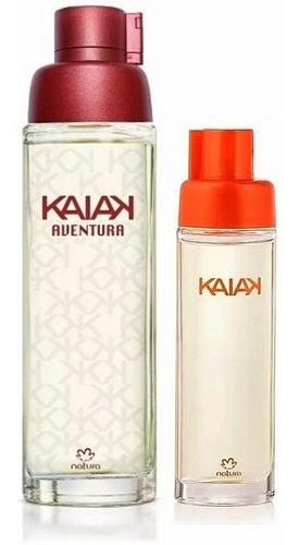 Perfume Kaiak Aventura + Mini Kaiak Cla - mL a $280