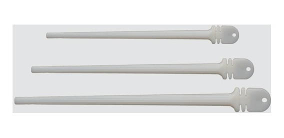 Poleiro Plastico Italiano 28cm *60 Unidades