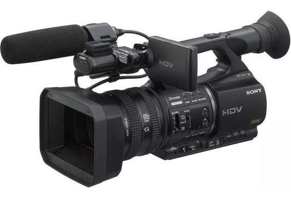 Filmadora Hdv Profissional 3ccd Sony Hvr-z5 Conservada