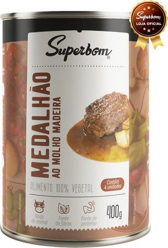 Medalhão Vegano Ao Molho Madeira 400g - Superbom