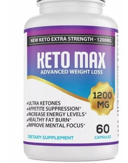 Keto Max 1200 Mg Original Ketosis 100% El Original !!!!