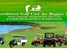 Carro Golf Bell Boy Turistas Hoteleria, Sto.dgo. Rep.dom