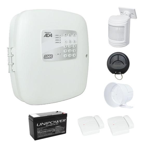 Kit Alarme Residencial Casa Comercial Sensor Sirene Controle