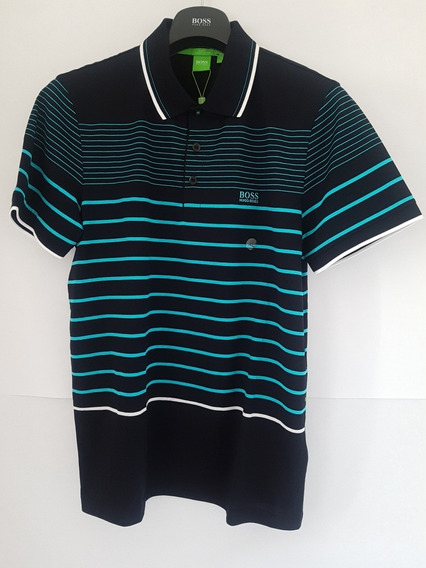Playera Hugo Boss Green Modelo Paule2 Talla 3xl Slim Fit!