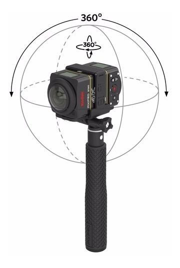 Kodak Pixpro Sp360 4k Top 360º Melhor Que Theta S