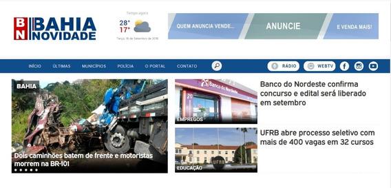 Portal De Notícias Em Php Com Versão Mobile 2018 Completo