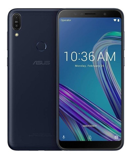 Asus ZenFone Max Pro M1 ZB602KL (13 Mpx) Dual SIM 64 GB Preto-oceano 4 GB RAM