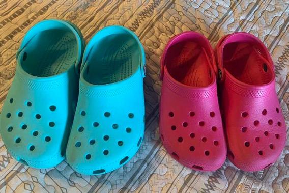 Crocs Hermosas! Impecables!!!