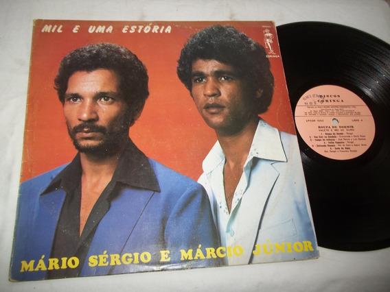 Lp Vinil - Mil E Uma Estoria - Mario Sergio E Marcio Junior