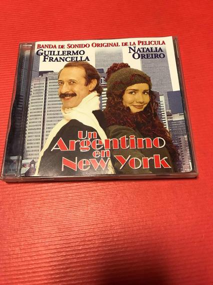 Natalia Oreiro Un Argentino En Nueva York Cd Jusid 1998