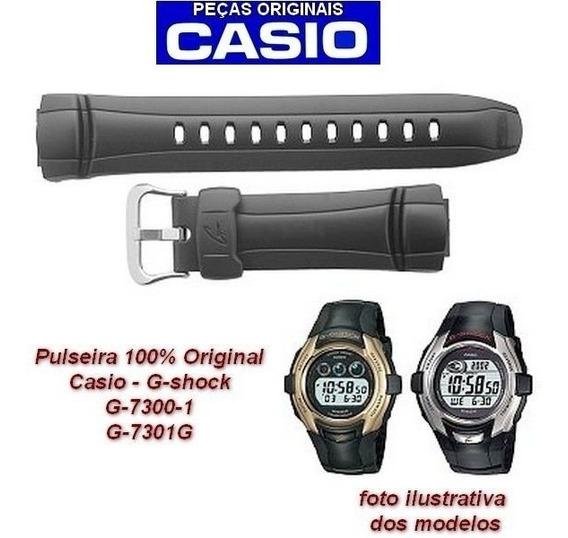 Pulseira Preta Casio G-shock G-7300 G-7301 - 100% Original